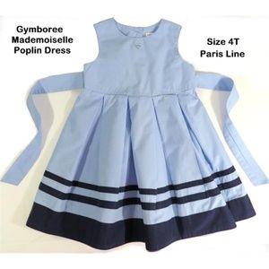 Gymboree 4/4T French Darling Poplin Dress